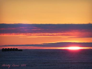 granary sunset