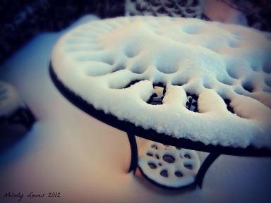 Snowed in bistro